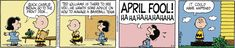 Peanuts by Charles Schulz for Apr 1, 2017 | Read Comic Strips at GoComics.com