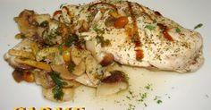 Setas y pechuga de pollo en papillotte  Receta de carme castillo - Cookpad