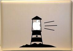 Lighthouse Macbook Decal Sticker