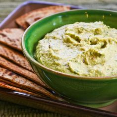 It might not be something everyone would appreciate, but I loved this interesting version of hummus with parsley.  [#SouthBeachDiet friendly from Kalyn's Kitchen]