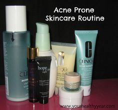 Acne Prone Skincare routine