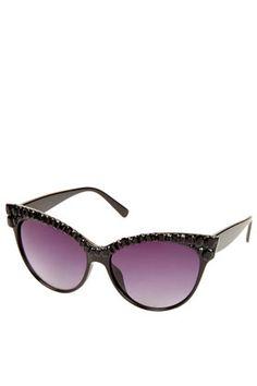 Jewelled Catseye Sunglasses