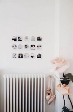 gebruik washi tape om foto's op een muur te hangen Tape Photos on Wall | www.cutetape.com