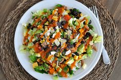 DID NOT like the dressing   Chopped Taco Salad with Homemade Dressing | Mel's Kitchen Cafe
