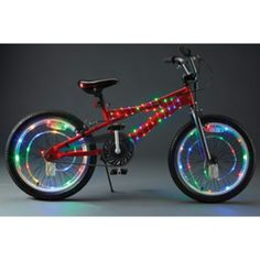 Keep your kids safe with these fun bike/wheel lights. Container Store