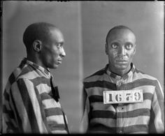 Photograph of Hy Steele, No. 1679, Records of the Virginia Penitentiary, Series II. Prisoner Records, Subseries B. Photographs and Negatives, Box 46, Accession 41558, State Records Collection, Library of Virginia.