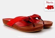 Nyári papucsok királynője! Piros spanyol Marila szandál, divatos és kényelmes viselet a forróságban!  #Marila #Marilapapucs #pirospapucs #Mariawebshop #szandáldivat #nőipapucs #cipőbolt #cipőwebshop #cipőüzlet #ValentinaCipőboltok #Akció #nyárivásár #végsőárak #utolsóárak Valentino, Sandals, Shoes, Fashion, Moda, Shoes Sandals, Zapatos, Shoes Outlet, Fashion Styles