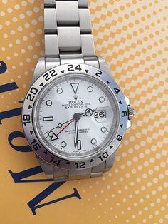 Rolex Explorer II, Ref. 16570 WD, Cal. 3186, Thin Frame Dial