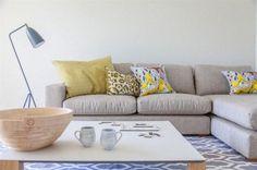 Ideas para aprovechar el living en un dos ambientes - Living - ESPACIO LIVING