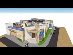 Videos of house floor plans - Use for home unit in numerous ways. Arquimex from Mexico production