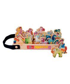 Unicorns & Ponies Magnafun Set | zulily