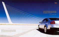 Read more: https://www.luerzersarchive.com/en/magazine/print-detail/audi-16606.html Audi Audi. Think about design. Tags: Bartle Bogle Hegarty (BBH), London,Max Forsythe Studio, Richmond Surrey,Roger Beckett,Audi,Andy Smart