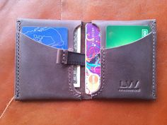 Leather wallet Leather wallet men Minimalist wallet
