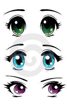 dibujos animados de ojos - Buscar con Google                                                                                                                                                      Más