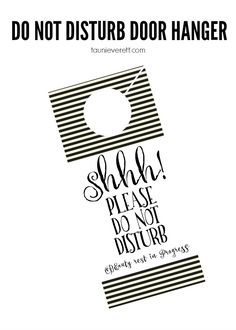 Free printable do no