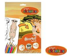 Chimp Shrinkles Slim Pack Outstanding Features Kids' Crafts