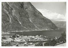 Eidfjord Hardanger Hordaland fylke  1975 Foto: Normann