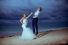 Like a fairy tale! Adventure Photos Punta Cana #GrandPalladiumPuntaCana #WedidngsByPalladium