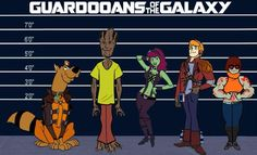 Guardians of the Galaxy and Scooby Doo by Brandtk on DeviantArt Guardians of the Galaxy and Scooby Doo by Brandtk on DeviantArt The post Guardians of the Galaxy and Scooby Doo by Brandtk on DeviantArt appeared first on Paris Disneyland Pictures. Scooby Doo Memes, New Scooby Doo, Today Cartoon, Morning Cartoon, Cartoon Fun, Hanna Barbera, Cartoon Crossovers, Cartoon Characters, Scooby Doo Mystery Incorporated