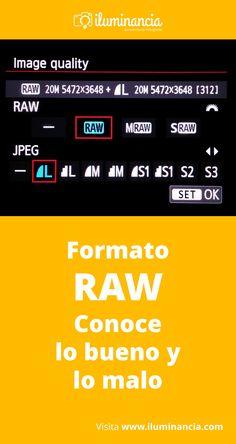 """Cuando avanzamos un poco más en las fotografía, leemos mucho sobre el formato RAW: conocido como el """"negativo digital"""". Aquí exploraremos las ventajas y desventajas de usar este formato en nuestro día a día, y al final, varias recomendaciones para su uso..."""