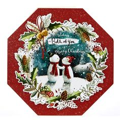 Platinum Collection Christmas Card - Both Of You, Snowmen | Card Factory