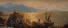 VIDAL Gustave - Paysage corse