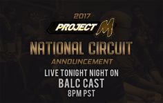Tonight on Balc Cast will be the Circuit Announcement! Jfalls will be interviewing Messi & Oracle at 8pm PST on hitbox.tv/thebalcony