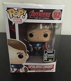 Funko Pop! Unmasked Captain America Marvel Avengers Age Of Ultron  I need it for my collection