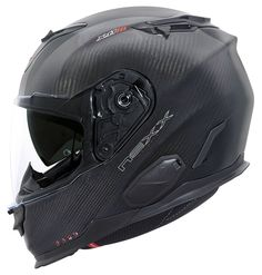 The Nexx X.T1 combines the comfort of a touring helmet and the light weight construction of carbon fiber with the ease of adding the NEXX X-COM Bluetooth Com...