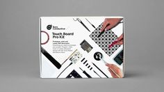 Find out what's inside the Touch Board Pro Kit in this quick unboxing video and create awesome interactive projects! Interactive Walls, Arduino, Boards, Kit, Touch, Learning, Prints, Tutorials, Create