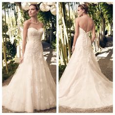 Casablanca Bridal Fall 2014 Style 2168