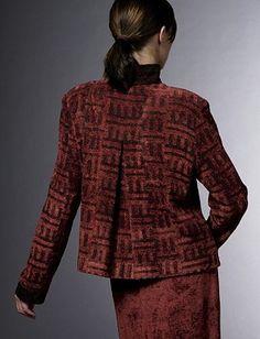 Smithsonian Craft2Wear 2015, Oct 1-3, Washington, DC. http://swc.si.edu/craft2wear  Tregea Bevan Handwoven Clothing