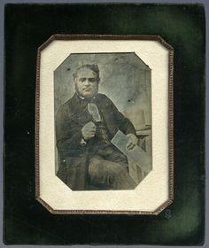 Porträt von Kasimir Pilarski, Techniker (1804 - 1884), Ingenieur beim Bau der Pferdeeisenbahn Linz-Budweis, Kaiser Ferdinands-Nordbahn (1837 - 1841) und Semmeringbahn (Stellvertreter von Ghega, 1848 - 1854).