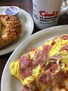 Omg bologna omelette Cindy's Deli Farmers Branch Texas