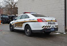City of Pittsburgh, PA Bureau of Police Patrol Car - Ford Police Interceptor Sedan