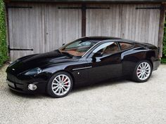 Aston Martin Vanquish. This is the earlier Newport Pagnell built model.
