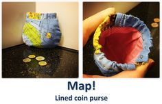 Map! Coin Purses, Map, Collection, Coin Wallet, Coin Purse, Cards, Maps