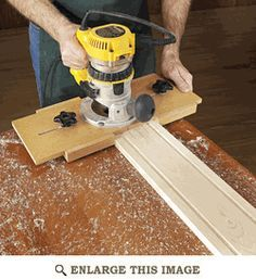 Fluting Jig Woodworking Plan, Shop Project Plan | WOOD Store.