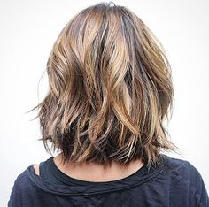 i always think about cutting my elbow length hair to this length. but i am too much a chicken to do it