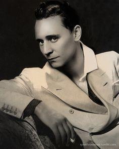 Tom Hiddleston, Time Traveler Portraits | 1930s  (my favorite)