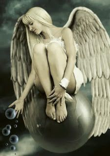Aphrodite by TongoStyle on DeviantArt Most Beautiful Words, Beautiful Pictures, Angels And Demons, Fallen Angels, Angel Art, Black And White Colour, Aphrodite, Faeries, Color Splash