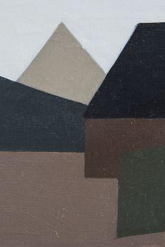Bengt Orup oil painting at Studio Schalling #art #konkret  KONKRET KONST