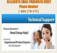 Bellsouth Email Password Reset Contact Number for instant Tech Support