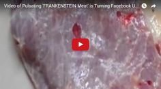 #HeyUnik  Heboh, Video Daging 'Frankenstein' Masih Berdenyut #Video #YangUnikEmangAsyik