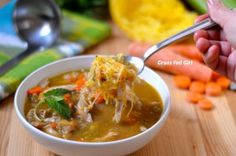 Grain-Free Turkey Noodle Soup (Paleo, Gaps, SCD, Low Carb) November 29, 2013 By Caitlin Weeks of Grass Fed Girl