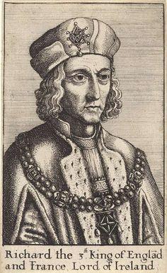 Richard III, P.1489, Creator: Hollar, Wenzel, Rijksmuseum