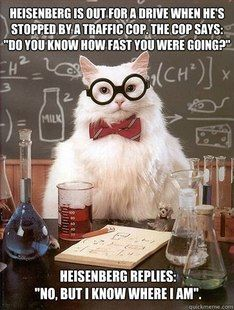 I never thought I'd get through Quantum Chemistry to tell this joke. LOL.