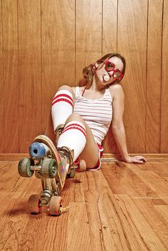 Corinne: Roller Girl | Flickr - Photo Sharing!