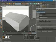 Cinema 4D Tutorial - Creating Roof Tiles