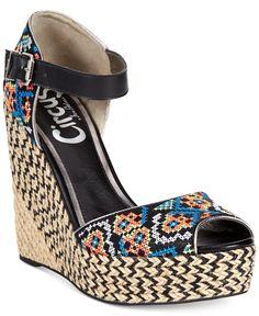 2e785defe7e Circus by Sam Edelman Sutton Espadrille Platform Wedge Sandals   Reviews -  Sandals   Flip Flops - Shoes - Macy s